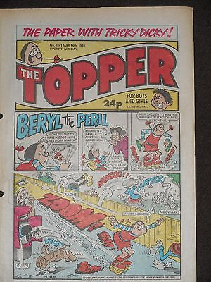 The Topper Comic 14th May 1988 (Issue 1841)