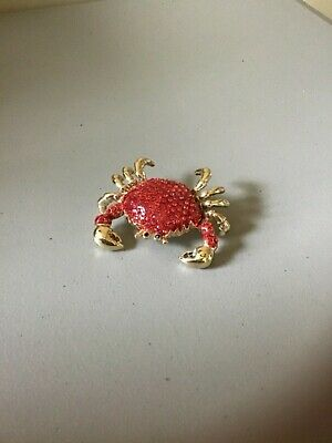 Jeweled Crab (Jeweled Crab Hinged Trinket Box)