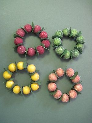 FROSTED FRUITBERRIES NAPKIN RINGS-4
