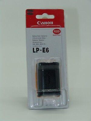 Canon Akku LP-E6  für EOS 70D, 6D, 5DMKII, 5DMKIII 5DMKIV NEU & OVP