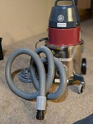 Minuteman C80704-05 Dry Critical Ulpa Filter Vacuum Cleanroom Lab Iso3 4-gal Ss