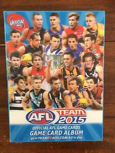 2015 AFL Football cards Brighton East Bayside Area Preview