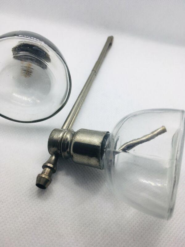 Antique Throat Spray Atomiser Set Possibly DeVilbiss Patent Dec.7.09