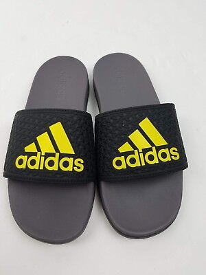 Adidas Adilette CF+K Black / Yellow BA7693 Youth Size 3