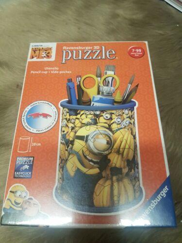 Puzzle 3d neu Becher Minions