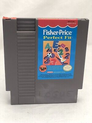 Fisher Price: Perfect-Fit - Nintendo NES - Free Shipping