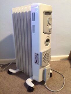 AS NEW 2015  - 1.5kW DIMPLEX OIL HEATER WITH TIMER & FAN Rosebery Inner Sydney Preview