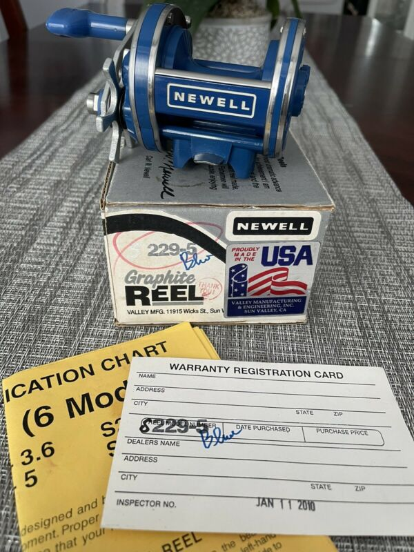 Used Blue Newell S229-5 with Box and Card