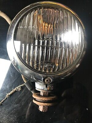 """1939 40 41 42 46 47 48 49 50 PACKARD CM HALL LAMP CO. FOG LIGHT 4"""" NICE! for sale  Shipping to Canada"""