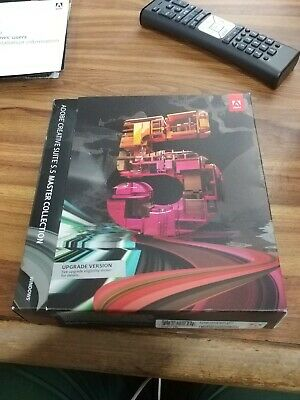 Adobe Creative Suite 5.5 Master Collection, Upgrade version with key cs5 upgrade