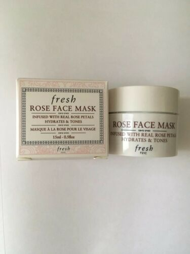 Fresh Rose Face Mask Mini Sample Travel Size 0.5oz 15mL