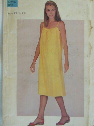 Lovely VTG 80s BUTTERICK 3631 Misses Flared Dress PATTERN Pt/30.5B UC
