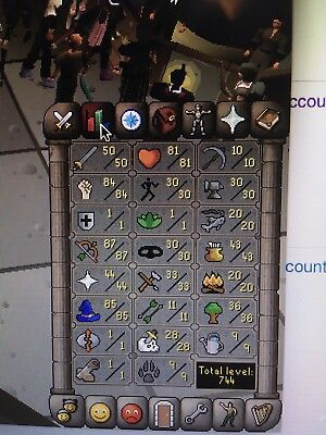 Old School Runescape  Osrs  Pure Gmaul Account Level 69  30Mil Bank And Extras