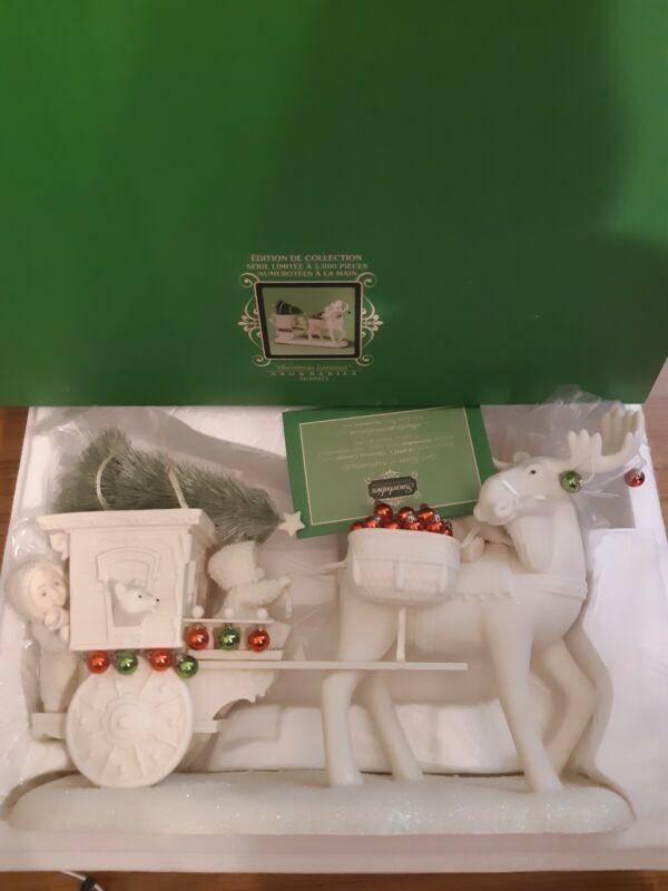 Dept 56 Snowbabies Christmas Caravan 69475 Limited Edition 5,000 Figurine
