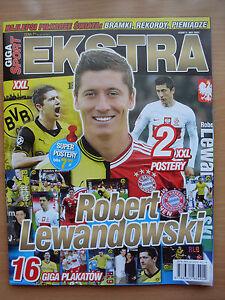 GIGA SPORT EXTRA - ROBERT LEWANDOWSKI on front cover, in. 16 posters - Czestochowa, Polska - GIGA SPORT EXTRA - ROBERT LEWANDOWSKI on front cover, in. 16 posters - Czestochowa, Polska