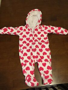 3-6 month fleece bodysuit