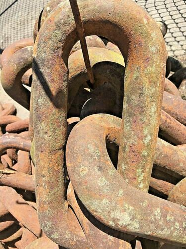 """1 5/8"""" diameter SAW MILL CHAIN , 36 ft. long, links are 11"""" x 5 """""""