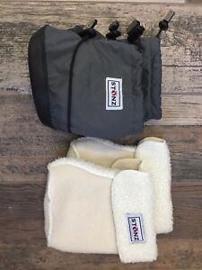 Stonz boots and liners - medium
