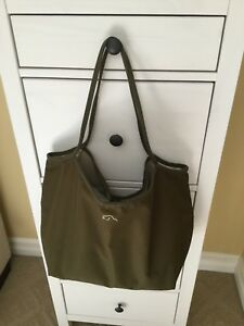 Roots reversible tote bag