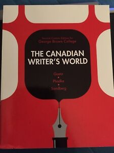 The Canadian Writers World textbook