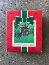 Hallmark Keepsake Ornament Old World Cuckoo Clock 1984 MIB QX4551