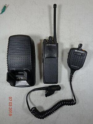 Motorola XTS5000 R VHF portable Radio H18KEC9PW5AN w/ antenna/charger/spk mic