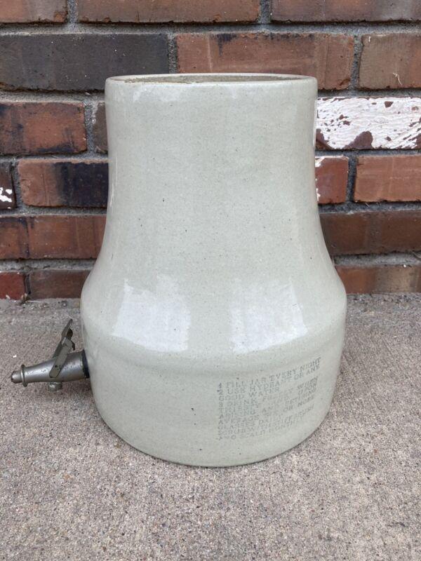 Rare Antique Radium Ore Revigator Stoneware Water Dispenser No Lid *Cracked*