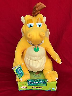 "12"" Quetzal Dragon Plush Original Box With Tags Playskool 2000"