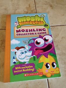Moshi Monsters.Collector's guide book