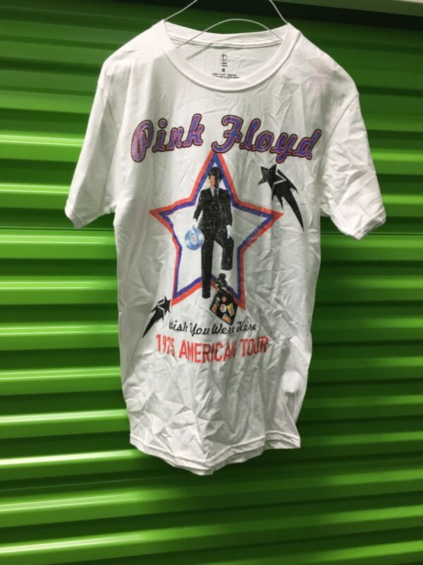 Pink Floyd 1975 concert t shirt size small