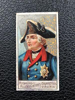 N15 Allen & Ginter Great Generals Frederick the Great