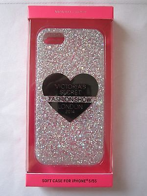 Victoria's Secret Glitter 2014 Fashion Show iPhone 5/5S Phone Soft Case NIB