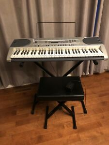 Casio LK-45 Electric Keyboard, Stand and Seat