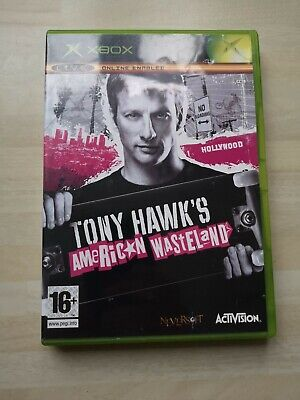 TONY HAWK'S AMERICAN WASTELAND Original Xbox Game Complete with Manual UK PAL