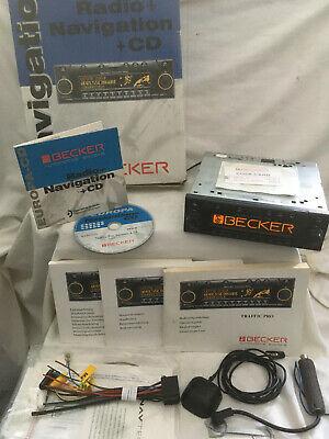 Becker Traffic Pro BE4721 Radio für Mercedes W201 W124 W210 W140 R129 Porsche
