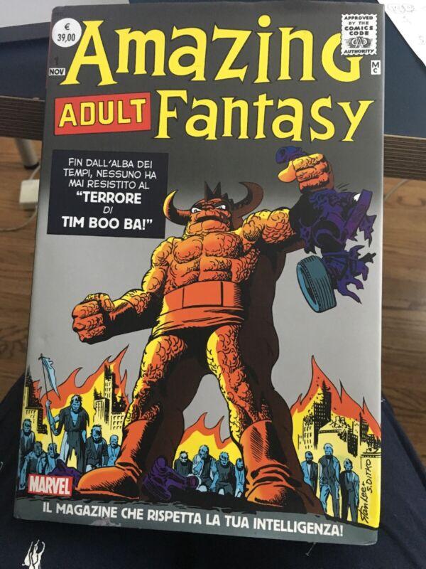 Marvel Amazing Adult Fantasy  Omnibus Italian Version