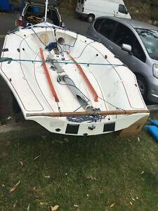 MG14 yacht for sale, Converted NS14