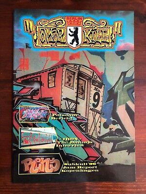 OVERKILL MAGAZINE 9 GRAFFITI WRITING S BAHN U BACKJUMPS ON THE RUN BOMBER BERLIN