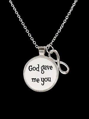 Mother's Day Necklace God Gave Me You Couples Gift For Best Friend