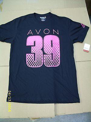 REEBOK - AVON 39 BREAST CANCER WALK - MEN'S UNISEX T-SHIRT (BH8479) *NEW*