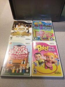 4 Nintendo Wii Games $5 For All!