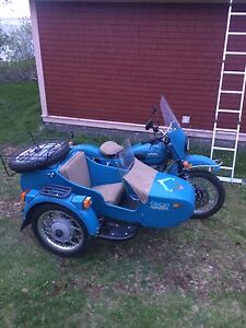 2014 URAL sidecar motorcycle For sale (mint)
