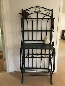 Iron Work stand/ wine holder