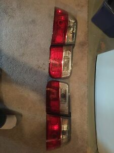 1998 civic chrome tail lights, mint set