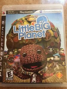 Little Big Planet 1 & 3 PS3 games