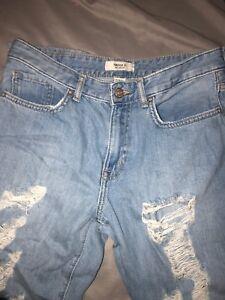 F21 retro mom jeans