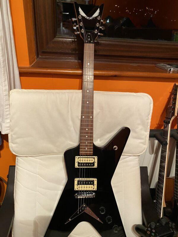 Dean MLX Gloss Black Electric Guitar ML X