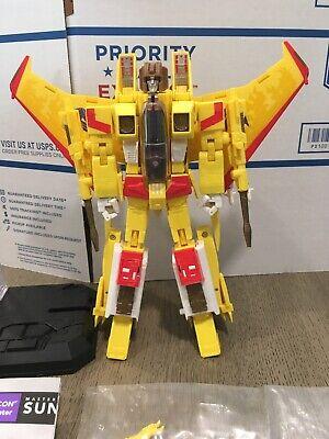 Hasbro Transformers Masterpiece SUNSTORM MP-05 Figure Toys R' Us Exclusive 2014