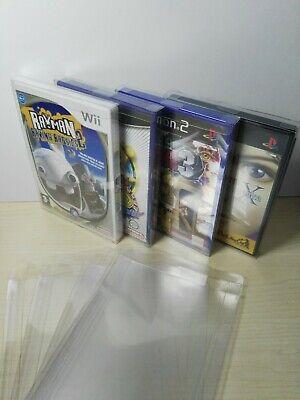 10 Und. Box Protector, Caja Funda formato DVD (PS2, WII, WIIU, 360,...