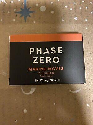 PHASE ZERO MAKE UP Blusher Blush -Making Moves NEW in BOX
